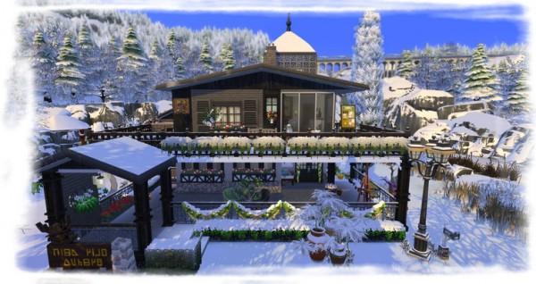 Les Sims 4 Passion: The red chickweed house