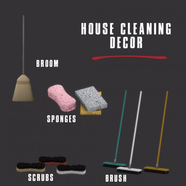 Leo 4 Sims: House cleaning