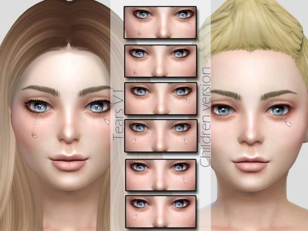MSQ Sims: Tears V1 Children Version