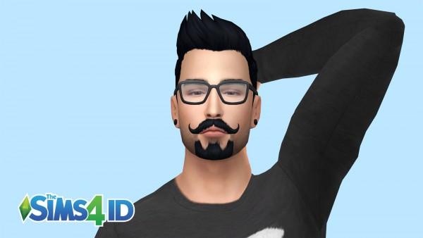 The Sims 4 ID: Beard   Van Dyke Style