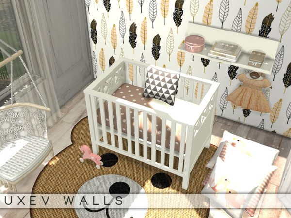 The Sims Resource: UXEV Walls by Pralinesims