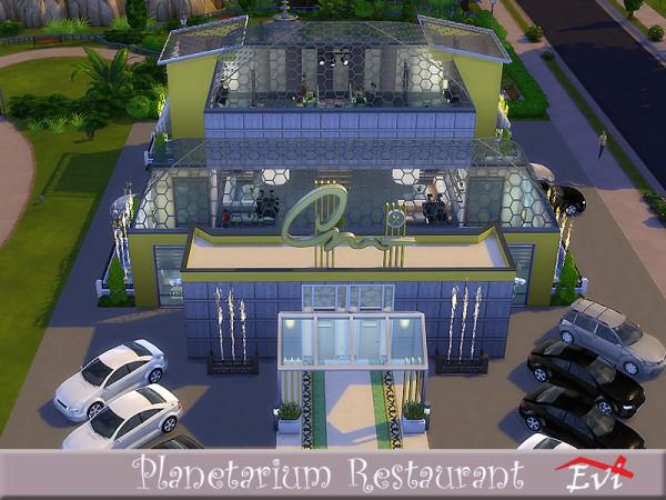 The Sims Resource: Planetarium Restaurant by evi