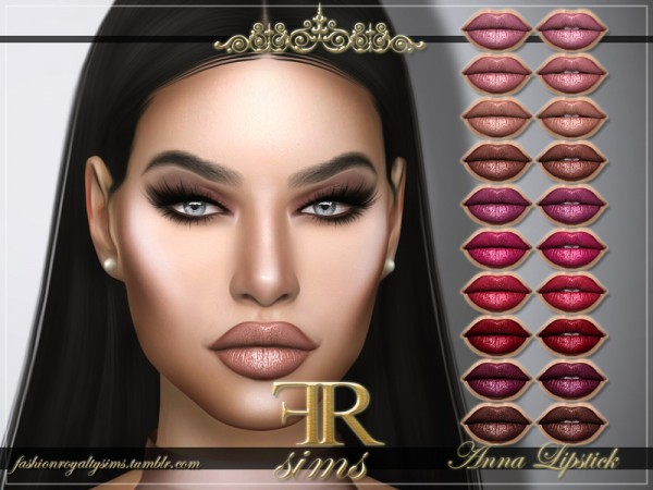 The Sims Resource: Anna Lipstick by FashionRoyaltySims