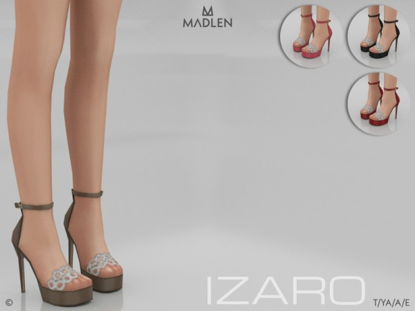 The Sims Resource: Madlen Izaro Shoes by MJ95