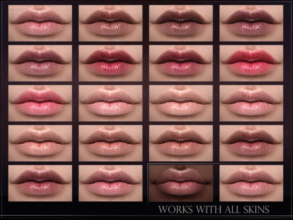 The Sims Resource: Phosphor Lipstick by RemusSirion