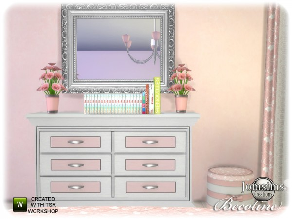 The Sims Resource: Becotine bedroom by jomsims