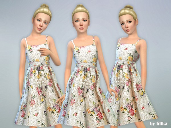 The Sims Resource: Joselyn Dress by lillka