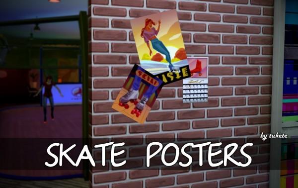 Tukete: Skate Posters