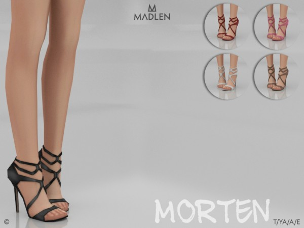 The Sims Resource: Madlen Morten Shoes by MJ95