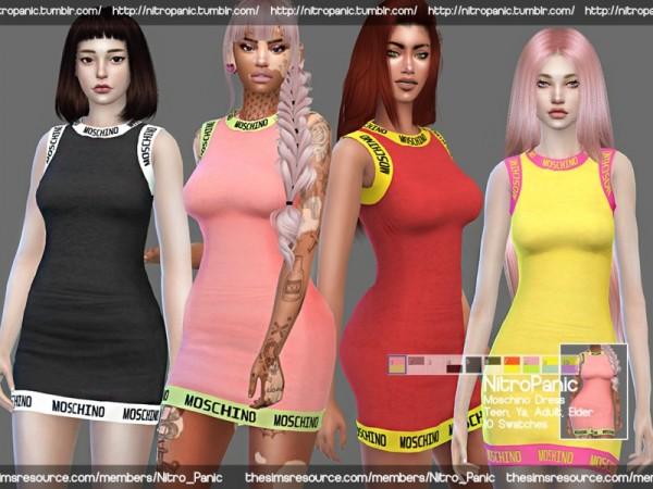 The Sims Resource: Designer Dress by Nitro Panic