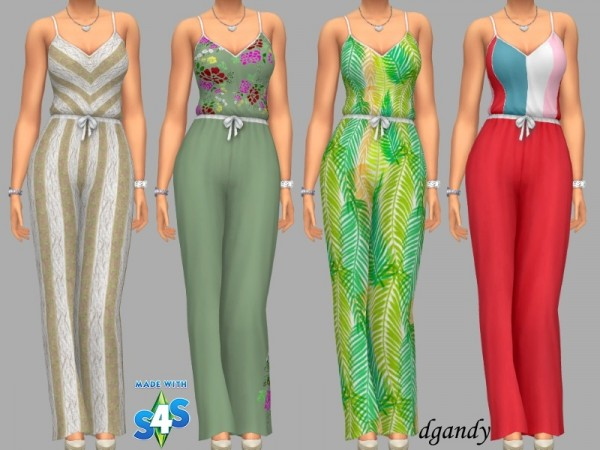 The Sims Resource: Jumpsuit   Ellie by dgandy