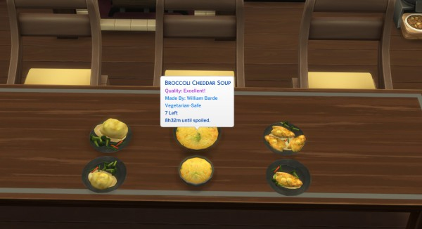 Mod The Sims: Broccoli Recipes   Mashed potato, Chicken and Cheddar Soup by icemunmun