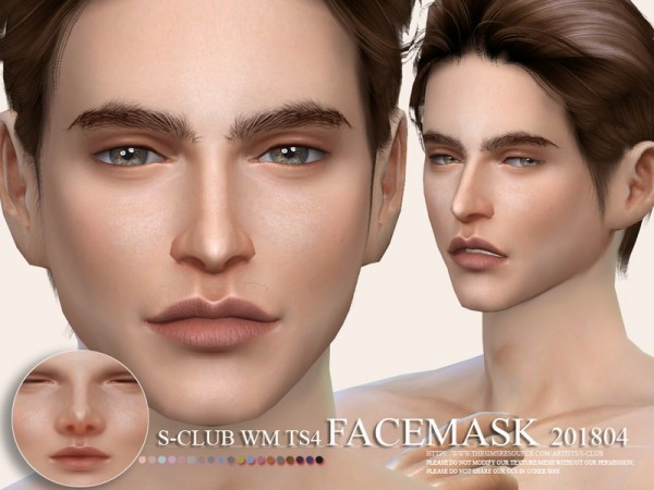 The Sims Resource: Facemask 201804 by S Club