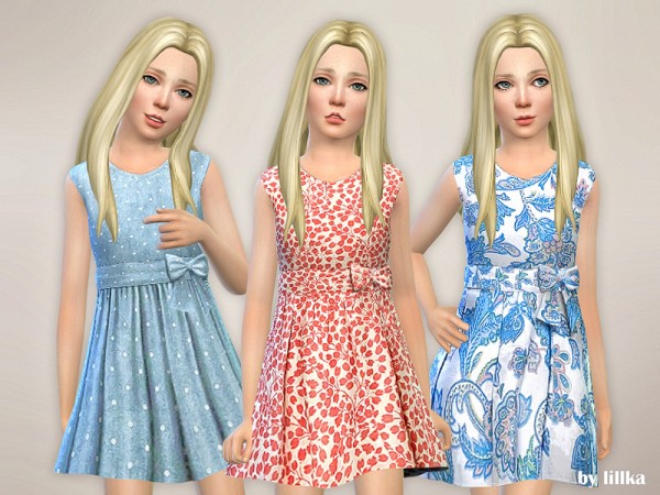 The Sims Resource: Designer Dresses Collection P110 by lillka