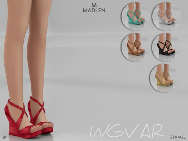 The Sims Resource: Madlen Ingvar Shoes by MJ95