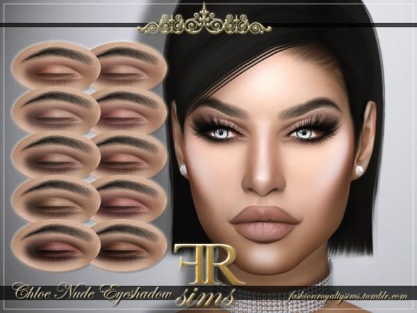 The Sims Resource: Chloe Nude Eyeshadow by FashionRoyaltySims