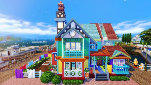 BereSims: Eclectic home build