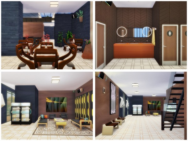 The Sims Resource: Entertainment center by Danuta720