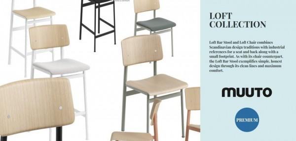 Meinkatz Creations: Loft Collection bar by Muuto