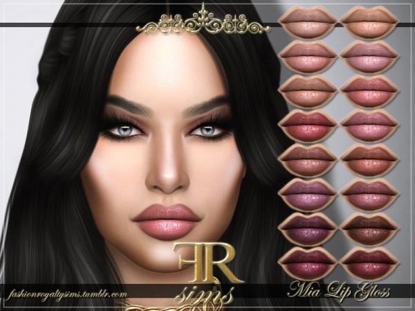 The Sims Resource: Mia Lip Gloss by FashionRoyaltySims