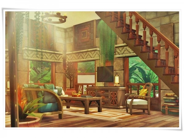 The Sims Resource: Tropical Miracle house by Moniamay72