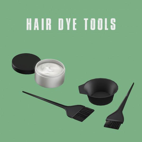 Leo 4 Sims: Hair Dye Tools