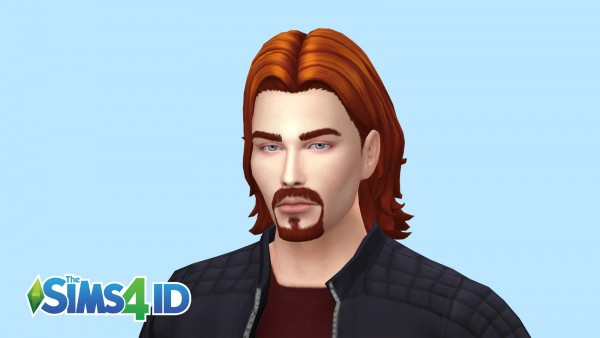 The Sims 4 ID: Thin Goatee beard