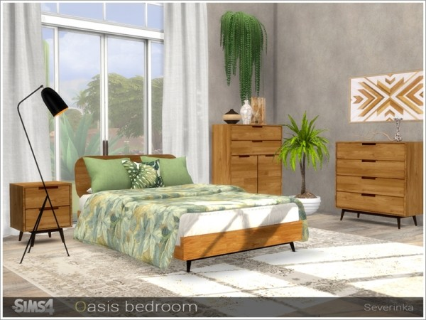 The Sims Resource: Oasis bedroom by Severinka