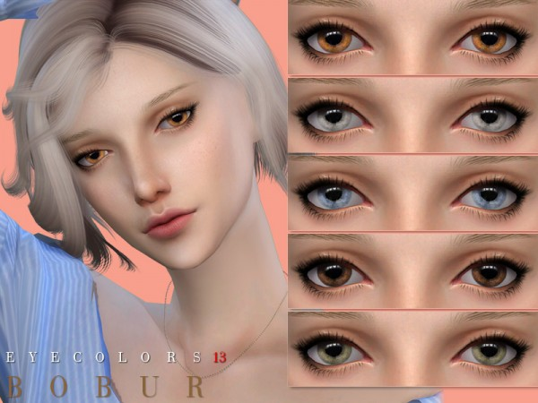 The Sims Resource: Eyecolors 13 by Bobur