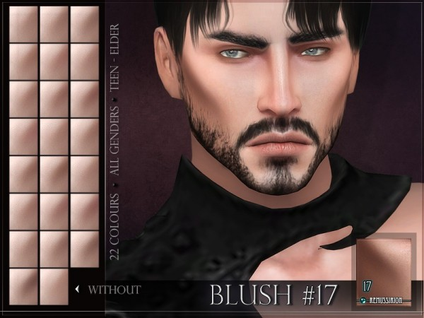The Sims Resource: Blush 17 by RemusSirion
