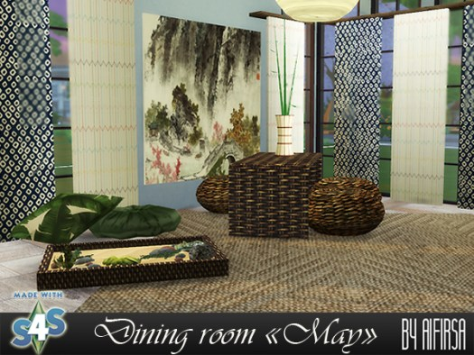 Aifirsa Sims: May diningroom