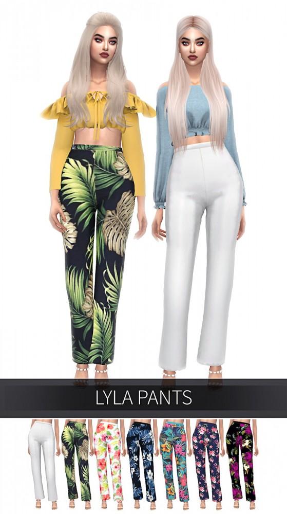 Frost Sims 4: Lyla pants