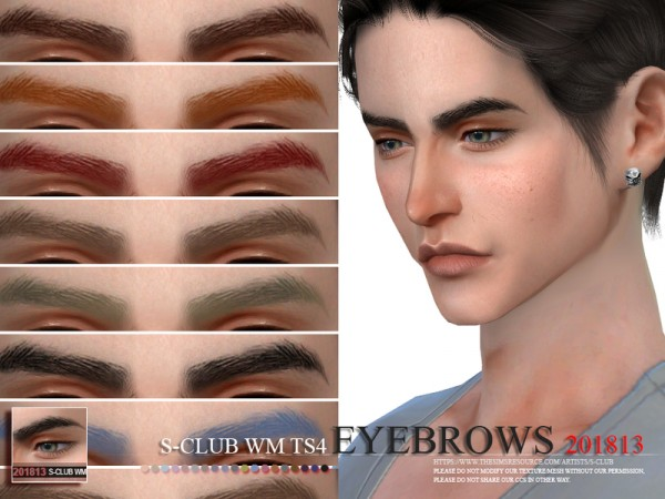 The Sims Resource: Eyebrows 201813 by S Club