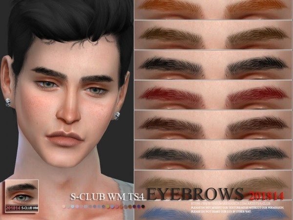 The Sims Resource: Eyebrows 201814 by S club