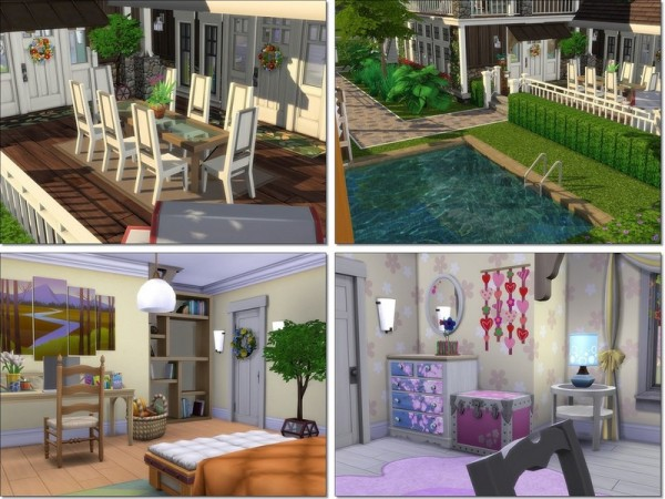 The Sims Resource: Early Summer house by MychQQQ