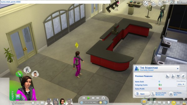 Mod The Sims: Perk Points Console Cheat by AshenSeaced