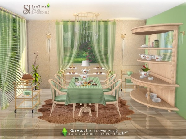 The Sims Resource: Tea Time Decor by SIMcredible