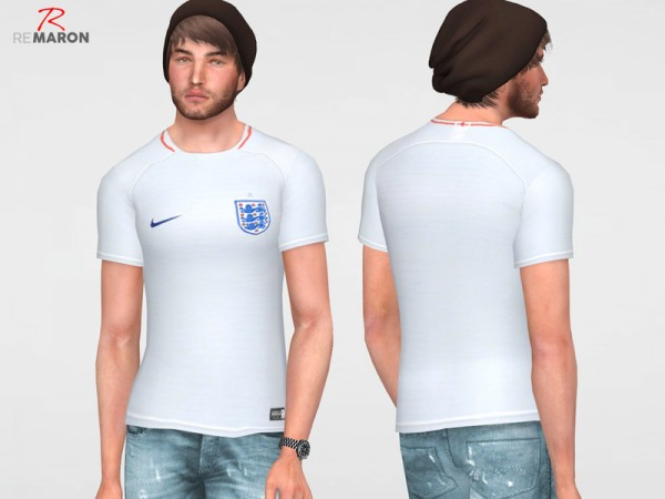 The Sims Resource: England World Cup shirt by Remaron