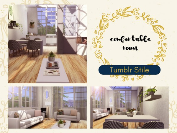 Liily Sims Desing: Tumblr Confortable Room