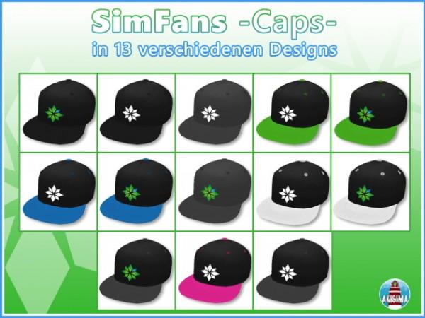 Akisima Sims Blog: SimFans Merch Caps