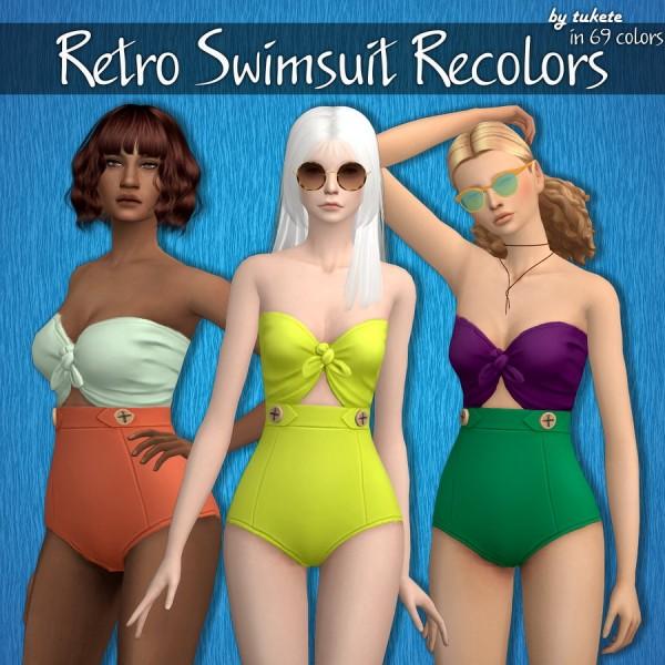 Tukete: Retro Swimsuit Recolors
