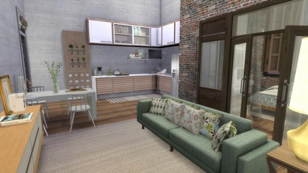 Dinha Gamer: Apartment Renovation  Female Loft Style
