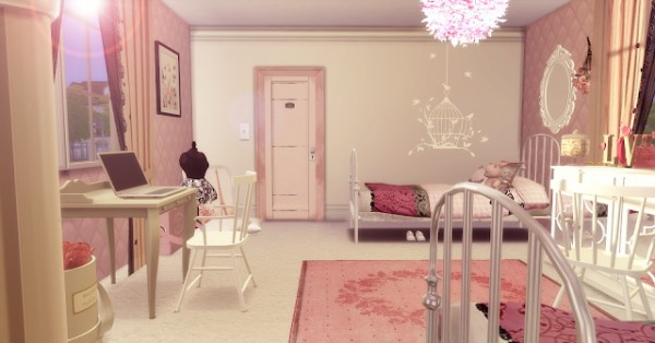 Liily Sims Desing: Twins Girls Dream Bedroom