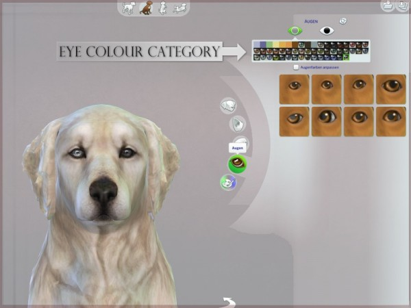 The Sims Resource: Dog Eyes 04 by RemusSirion