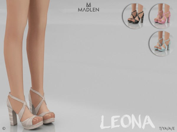 The Sims Resource: Madlen Leona Shoes by MJ95