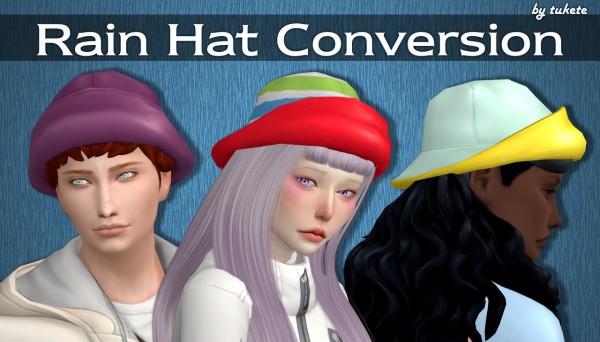 Tukete: Rain Hat Conversion