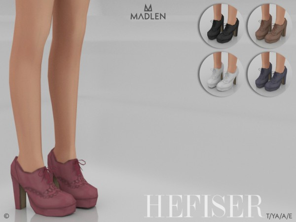 The Sims Resource: Madlen Hefiser Shoes by MJ95