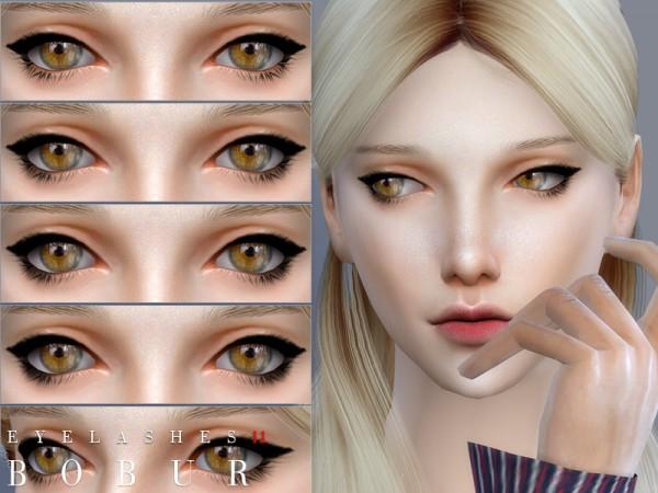 The Sims Resource: Eyelashes 11 by Bobur3