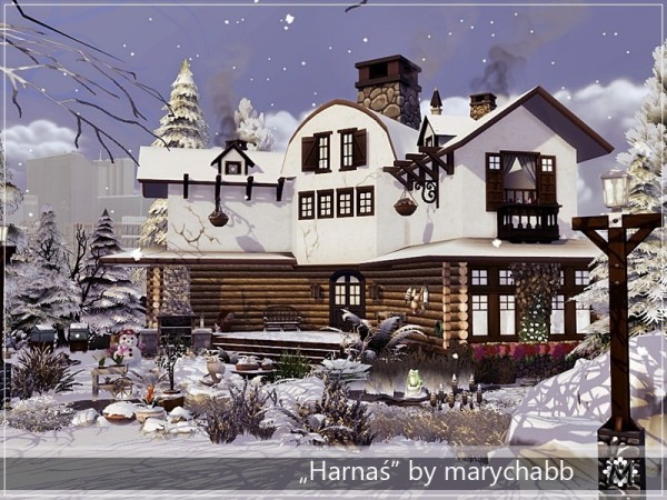 The Sims Resource: Harnas house by marychabb