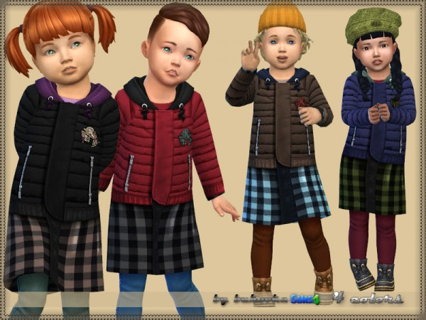 The Sims Resource: Coat Toddler 2 by bukovka